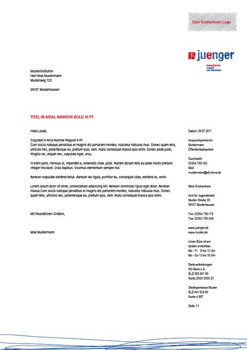Briefbogen 3 - PROJEKT JUENGER